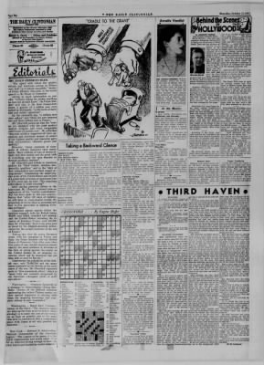 The Daily Clintonian from Clinton, Indiana on October 12, 1944 · Page 6