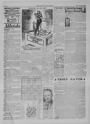 The Daily Clintonian from Clinton, Indiana on October 16, 1944 · Page 4