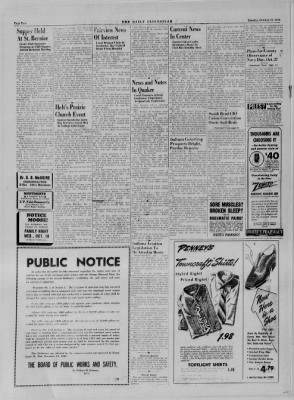 The Daily Clintonian from Clinton, Indiana on October 17, 1944 · Page 2