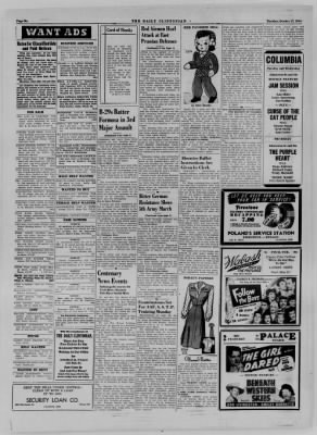 The Daily Clintonian from Clinton, Indiana on October 17, 1944 · Page 6