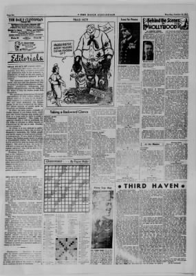 The Daily Clintonian from Clinton, Indiana on October 19, 1944 · Page 6