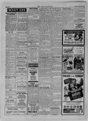 The Daily Clintonian from Clinton, Indiana on October 19, 1944 · Page 8