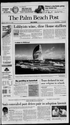 The Palm Beach Post from West Palm Beach, Florida on March 30, 1998 · Page 1