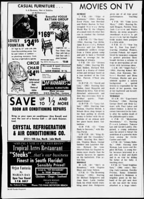The Palm Beach Post from West Palm Beach, Florida on November 10, 1968 · Page 186