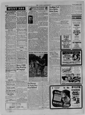 The Daily Clintonian from Clinton, Indiana on October 31, 1944 · Page 6
