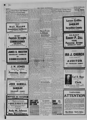 The Daily Clintonian from Clinton, Indiana on November 2, 1944 · Page 4