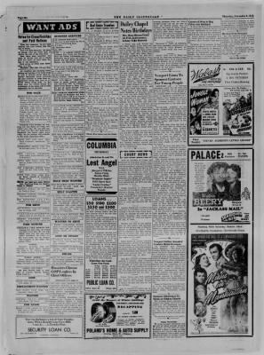 The Daily Clintonian from Clinton, Indiana on November 9, 1944 · Page 6