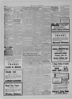 The Daily Clintonian from Clinton, Indiana on November 10, 1944 · Page 2