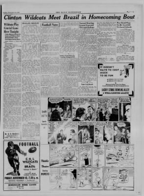 The Daily Clintonian from Clinton, Indiana on November 10, 1944 · Page 6