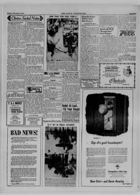 The Daily Clintonian from Clinton, Indiana on November 13, 1944 · Page 3