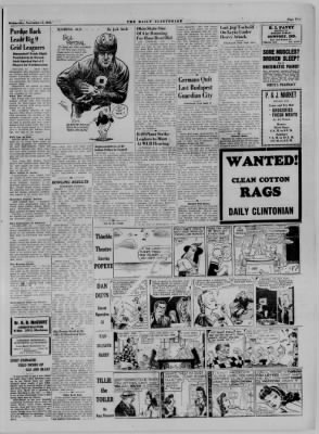 The Daily Clintonian from Clinton, Indiana on November 15, 1944 · Page 5