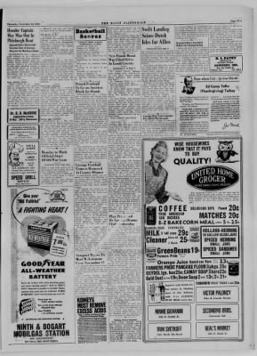 The Daily Clintonian from Clinton, Indiana on November 16, 1944 · Page 5