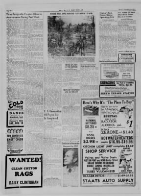 The Daily Clintonian from Clinton, Indiana on November 17, 1944 · Page 2