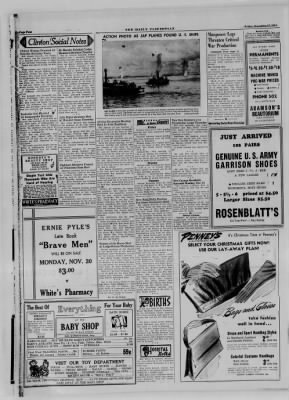 The Daily Clintonian from Clinton, Indiana on November 17, 1944 · Page 4