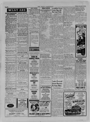 The Daily Clintonian from Clinton, Indiana on November 20, 1944 · Page 6
