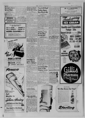 The Daily Clintonian from Clinton, Indiana on November 21, 1944 · Page 2