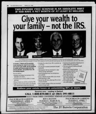 The Palm Beach Post from West Palm Beach, Florida on March 30, 1998 · Page 79