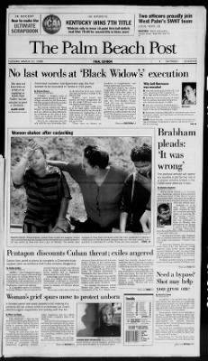 The Palm Beach Post from West Palm Beach, Florida on March 31, 1998 · Page 1