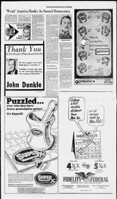 The Palm Beach Post from West Palm Beach, Florida on November 10, 1968 · Page 55