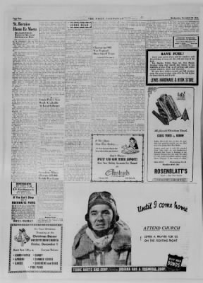The Daily Clintonian from Clinton, Indiana on November 29, 1944 · Page 2