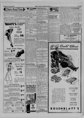 The Daily Clintonian from Clinton, Indiana on November 30, 1944 · Page 5