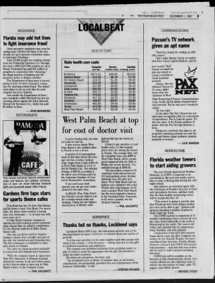 The Palm Beach Post from West Palm Beach, Florida on December 1, 1997 · Page 51