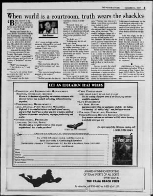 The Palm Beach Post from West Palm Beach, Florida on December 1, 1997 · Page 52