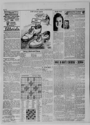 The Daily Clintonian from Clinton, Indiana on December 1, 1944 · Page 6