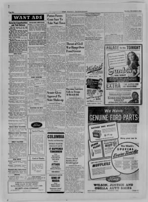 The Daily Clintonian from Clinton, Indiana on December 5, 1944 · Page 6