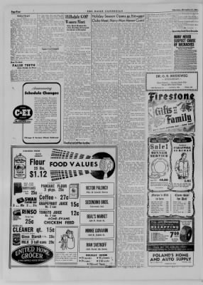 The Daily Clintonian from Clinton, Indiana on December 14, 1944 · Page 4