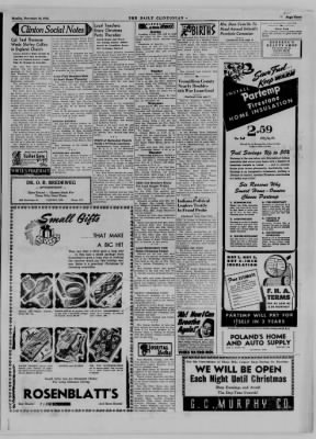 The Daily Clintonian from Clinton, Indiana on December 18, 1944 · Page 3