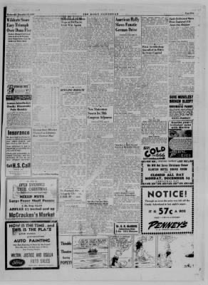 The Daily Clintonian from Clinton, Indiana on December 20, 1944 · Page 5