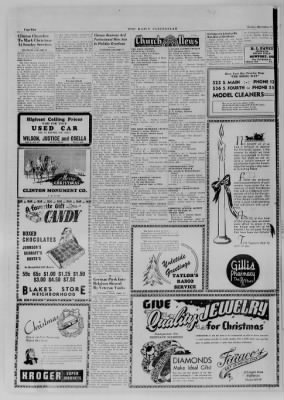 The Daily Clintonian from Clinton, Indiana on December 22, 1944 · Page 2