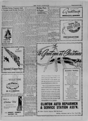 The Daily Clintonian from Clinton, Indiana on December 22, 1944 · Page 15