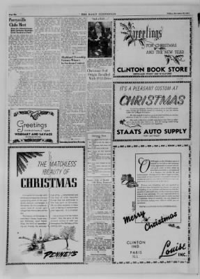 The Daily Clintonian from Clinton, Indiana on December 22, 1944 · Page 20