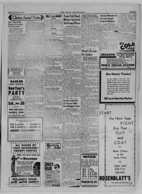 The Daily Clintonian from Clinton, Indiana on December 29, 1944 · Page 3