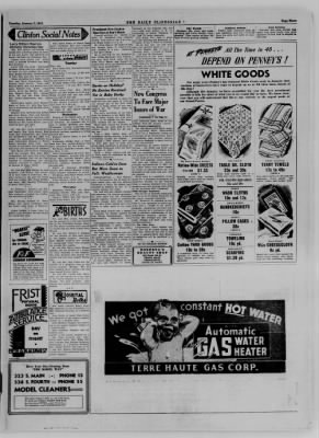 The Daily Clintonian from Clinton, Indiana on January 2, 1945 · Page 3