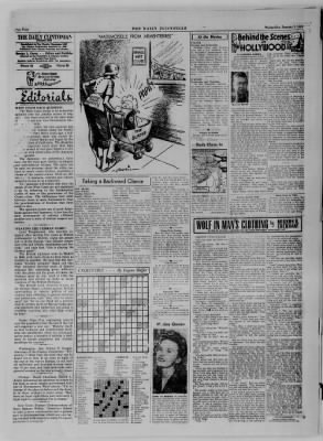 The Daily Clintonian from Clinton, Indiana on January 3, 1945 · Page 4