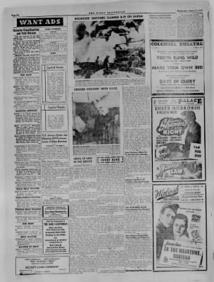 The Daily Clintonian from Clinton, Indiana on January 3, 1945 · Page 6