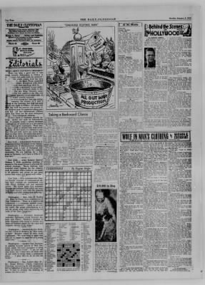 The Daily Clintonian from Clinton, Indiana on January 8, 1945 · Page 3