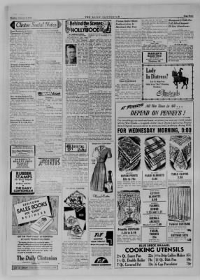 The Daily Clintonian from Clinton, Indiana on January 8, 1945 · Page 4