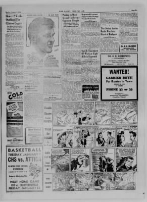 The Daily Clintonian from Clinton, Indiana on January 8, 1945 · Page 5
