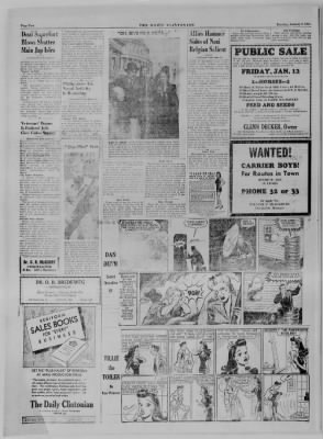 The Daily Clintonian from Clinton, Indiana on January 9, 1945 · Page 2