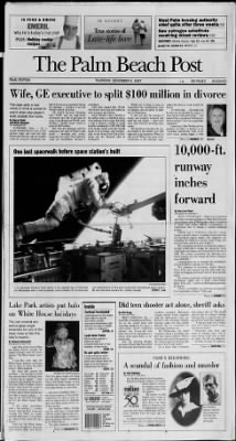 The Palm Beach Post from West Palm Beach, Florida on December 4, 1997 · Page 1