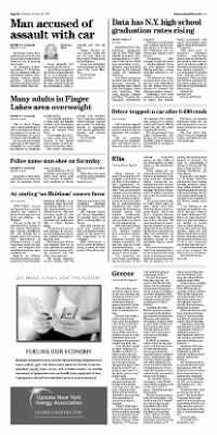 Democrat and Chronicle from Rochester, New York on October 20, 2015 · Page A4