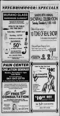 The Palm Beach Post from West Palm Beach, Florida on December 4, 1997 · Page 196