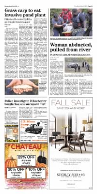 Democrat and Chronicle from Rochester, New York on October 22, 2015 · Page A5