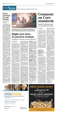 Democrat and Chronicle from Rochester, New York on October 22, 2015 · Page A10