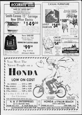 The Palm Beach Post from West Palm Beach, Florida on November 17, 1968 · Page 143