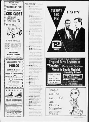 The Palm Beach Post from West Palm Beach, Florida on November 17, 1968 · Page 153